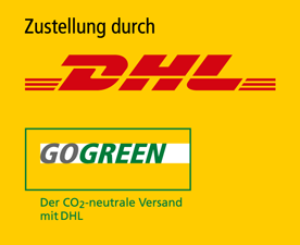 Wir versenden jetzt auch mit DHL