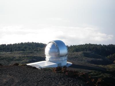 Sternwarte auf La Palma - Foto: psychodoc / pixelio.de